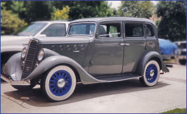 1936 Willys Sedan - FOR SALE