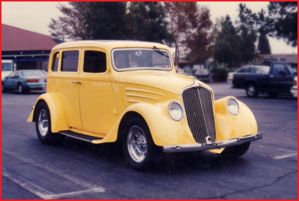 1934 Steel Willys Sedan - FOR SALE